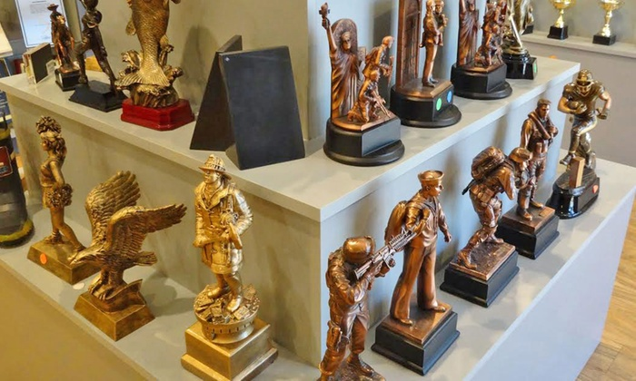 Tempe Trophy - Tempe: Customized Trophies and Awards at Tempe Trophy (50% Off). Two Options Available.