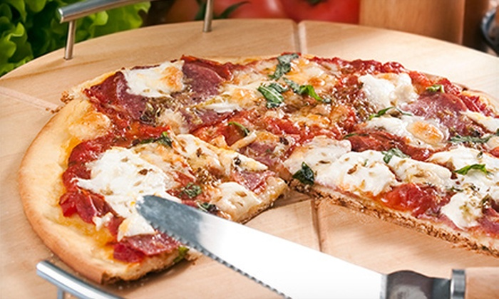 Pizza Patrón - Multiple Locations: $10 for $20 Worth of Pizza and Wings for Two at Pizza Patrón
