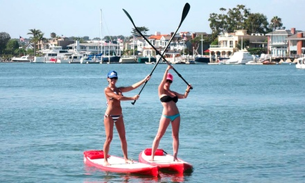 Single or Tandem Kayak, or Standup-Paddleboard Rental from Wayward Captain Paddleboards (64% Off)