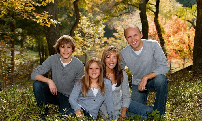 Eileen Hobt Photography - Trophy Club Indian Creek Townhomes: $149 for One-Hour Outdoor Holiday Portrait Session from Eileen Hobt Photography ($610  Value)