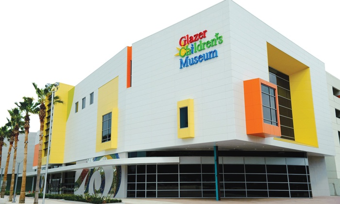 Glazer Children's Museum - Downtown: $60 for a One-Year Family Membership for Five People to Glazer Children's Museum ($100 Value)