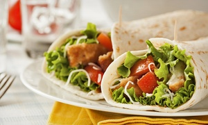 Three Or Five Groupons, Each Good For One Deli Wrap Or Mega Sub At New York Deli & Grill (up To 41% Off)