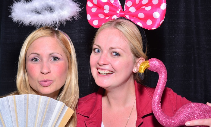 October 31 Booth - Windsor: Two- or Five-Hour Photo-Booth Rental for Any Event from October 31 Booth (Up to 55% Off)