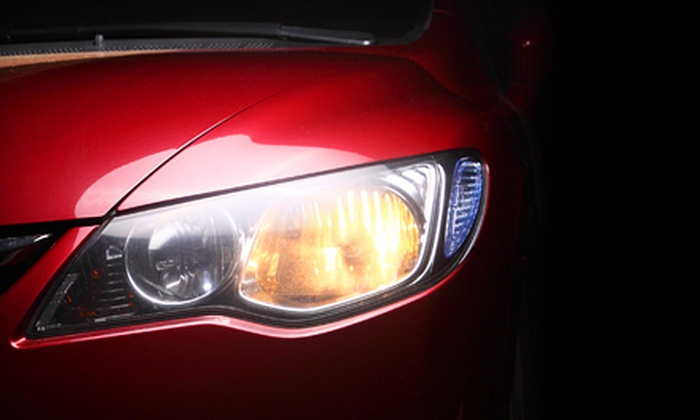 Ultimate Mobile Detailing - Tampa Bay Area: Headlight Restoration, Deluxe Vehicle Detailing, or Both from Ultimate Mobile Detailing (Up to 51% Off)