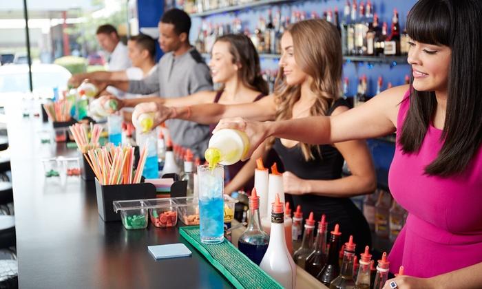 Bartending World - Sherman Oaks: 40-Hour Bartending-Certification Class or Two-Hour Flair Bartending Class at Bartending World (Up to 78% Off)