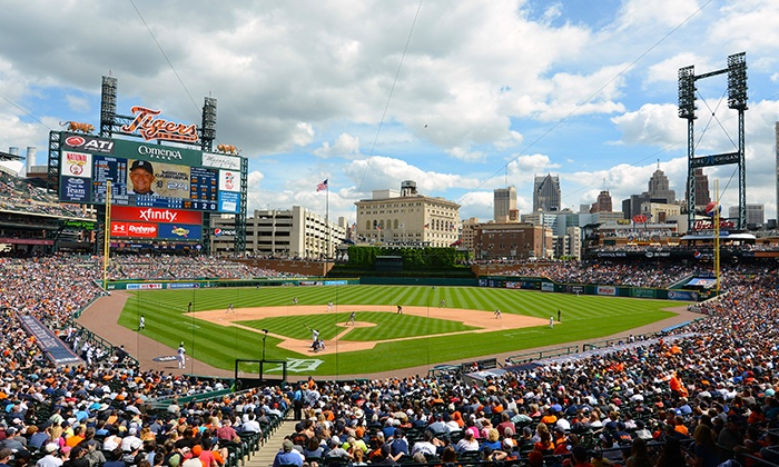 Detroit Tigers - Comerica Park: One Ticket to a Detroit Tigers Game at Comerica Park on August 20 or 25–27 (50% Off)