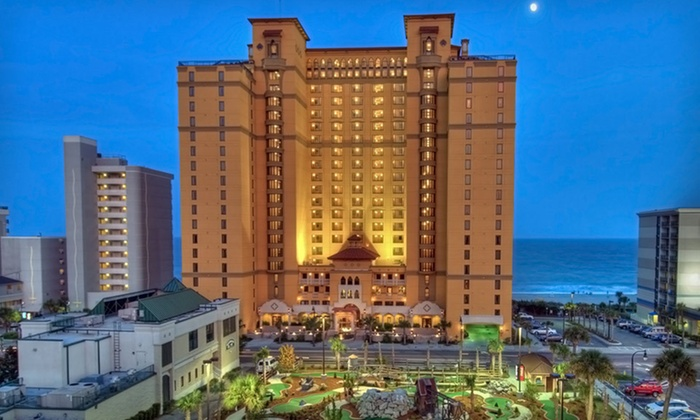 Anderson Ocean Club & Spa by Oceana Resorts - Myrtle Beach: One-, Two-, or Three-Night Stay at Anderson Ocean Club & Spa by Oceana Resorts in Myrtle Beach, SC