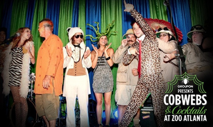 Zoo Atlanta - Eastside: Groupon Presents: Cobwebs and Cocktails at Zoo Atlanta for One or Two on Saturday, October 27