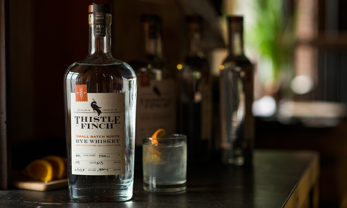 Thistle Finch Distilling - Lancaster: Public Tour and Tasting for 2 or 4, or a Private Tour for Up to 20 at Thistle Finch Distilling (Up to 52% Off)