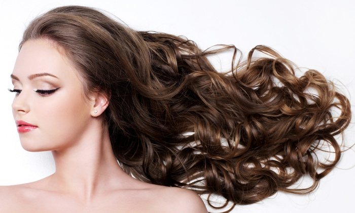 GP Cole Salon - Brownstown: Haircut and Deep-Conditioning Treatment with Optional Highlights, or Mani-Pedi at GP Cole Salon (Up to 64% Off)
