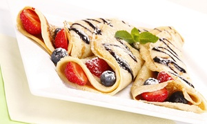 The Crepe Kitchen: Sweet and Savory Crepes at The Crepe Kitchen (Up to 40% Off). Two Options Available.