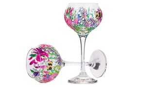 Elevate Creativity: Up to 56% Off Wine Glass or Vase Painting  at Elevate Creativity