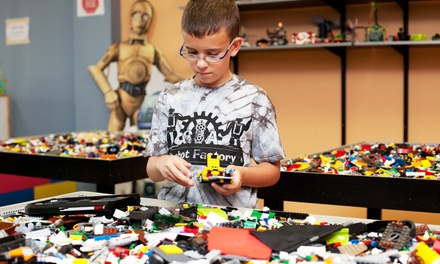6 or 12 Open-Play Sessions for One Child and One Adult at C&A Robot Factory (Up to 73% Off)