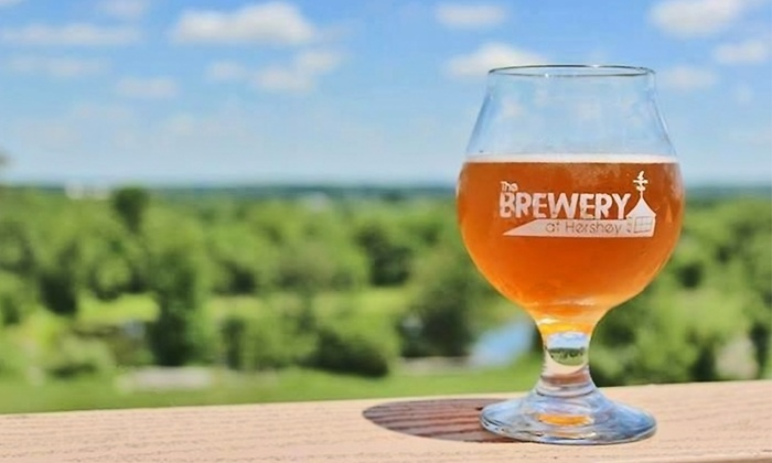 The Brewery at Hershey: VIP Wine or Beer Tasting Package for Two or Four at The Brewery at Hershey (Up to 48% Off)