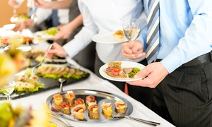 Out Of The Box Catering: Personal Catering Services for Up to 5 or 10 from Out of the Box Catering (48% Off). Three Options Available.