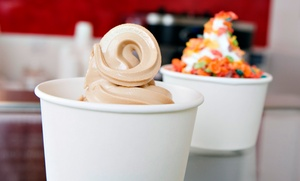 Kicks Frozen Yogurt: $11 for Two Groupons, Each Good for $10 Worth of Fro-Yo at Kicks Frozen Yogurt ($20 Total Value)