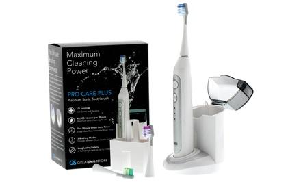 Advanced Platinum UltraSonic Toothbrush with UV Sanitizer