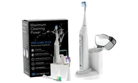 Advanced Platinum UltraSonic Toothbrush with UV Sanitizer cd8444c6-6bf8-11e7-9c75-00259060b5da