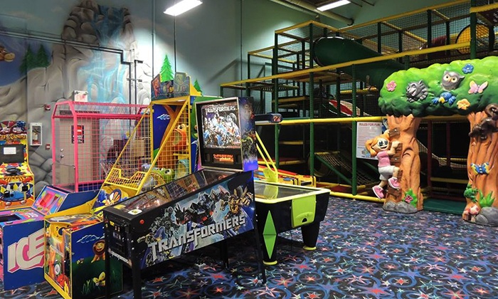 Kidz Quarterz - Sherwood Park: 5-Day Punch Pass or Family Fun Package with 80 Tokens at Kidz Quarterz (Up to 57%Off)
