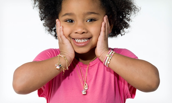 14K Gold Plated Girls' Jewelry: 14K Gold Plated Jewelry (Up to 85% Off). 37 Options Available. Free Shipping on Purchases of $15 or More. Free Returns.