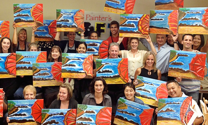 The Painter's Loft - Hopewell: BYOB Painting Class for One, Two, or Four at   The Painter's Loft (Up to 51% Off)