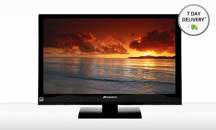 "Sansui 24"" LED TV/DVD Combo: Sansui 24-Inch LED TV/DVD Combo (Refurbished). Free Shipping and Returns."
