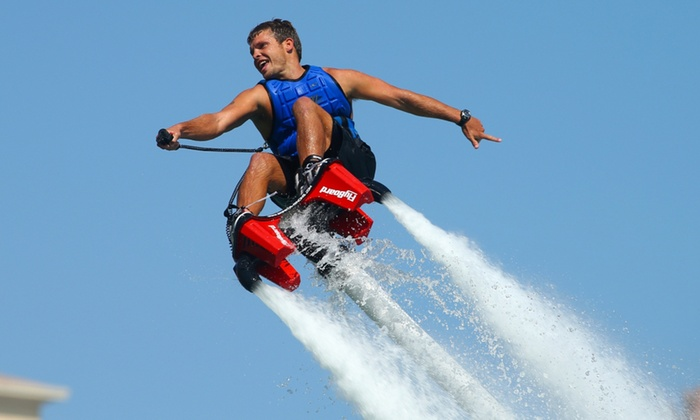 FlyBoard Las Vegas - Lake Las Vegas Merina: $115 for Flyboarding from FlyBoard Las Vegas ($175 Value)