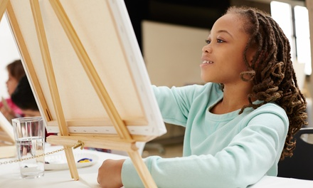 One or Three 90-Minute Kids Art Sessions or a Private Party Package at Blue Sky Art Studio (Up to 50% Off)