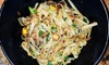 The Vines Winery & Mediterranean-Mongolian Fuzion Grill - Greensboro: $69 for Wine and Dine Experience for 2 at Vines Winery & Mediterranean-Mongolian Fuzion Grill ($132)