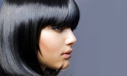 Haircut and Blow-Dry with Optional Colour or Partial Highlights at ORYA beauty boutique (Up to 58% Off)