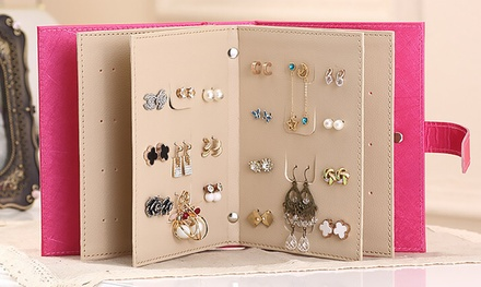 Earring Book in Choice of Colour from AED 69 (Up to 51% Off)
