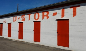 U STOR IT, Macon: Three or Six Months of Storage Services at U STOR IT, Macon (75% Off)
