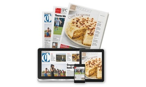 The Oregonian: 8, 16-, or 26-Week Subscription to The Oregonian with Digital Access and Sunday and Wednesday Delivery (73% Off)