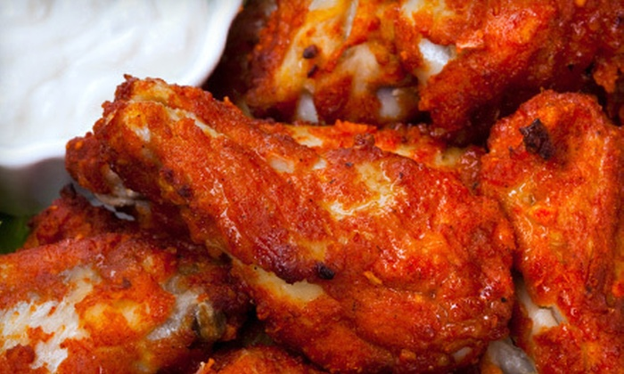 d.d. Peckers' Wing Shack - Ardmore / Sherwood Forest: American Food at d.d. Peckers' Wing Shack (Half Off). Two Options Available.