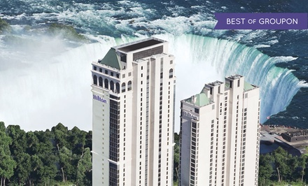 Stay with Breakfast and Winery Tours at Hilton Hotel and Suites Niagara Falls/Fallsview in Ontario. Dates into May.