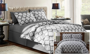 Galaxy Comforter Set With Sheets (6 Or 8 Pieces)