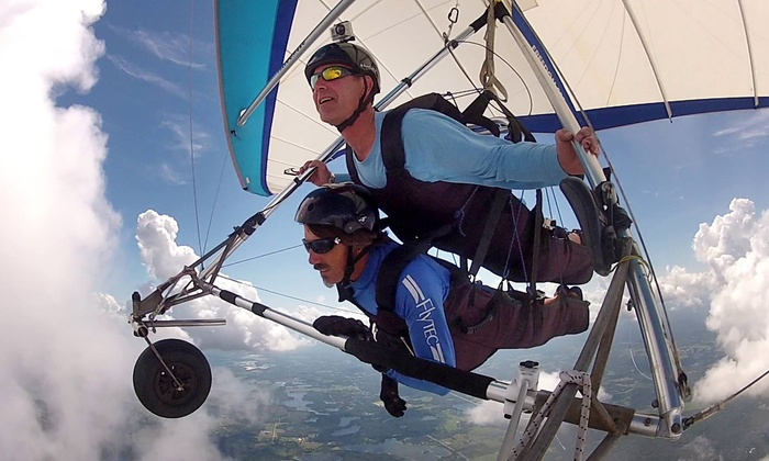 Quest Air Soaring Center - Groveland-Mascotte: Tandem Hang-Gliding Flight for One or Two at Quest Air Soaring Center (Up to 43% Off)