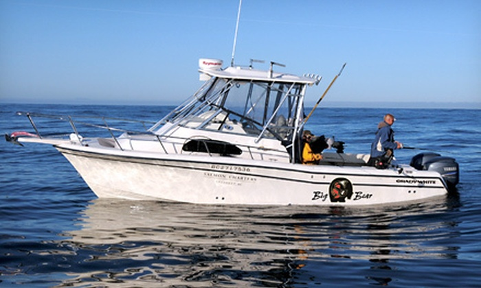 Big Bear Salmon Charters - Ucluelet: Eight-Hour Fishing Charter from Big Bear Salmon Charters in Ucluelet (Up to 54% Off). Four Options Available.