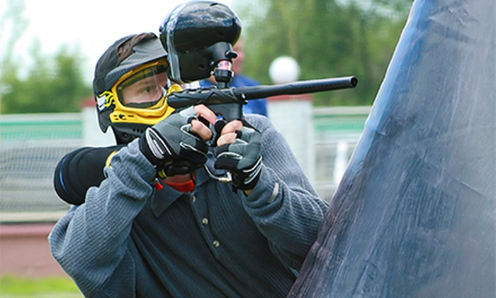 Hell Survivors Paintball Playfield - Hell Survivors Paintball Playfield: Three Hours of Paintball for Two or Five with Paintballs at Hell Survivors Paintball Playfield (Up to 63% Off)