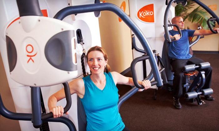 Koko FitClub - Multiple Locations: $29 for 12 Smartraining Sessions and 12 Cardio Sessions at Koko FitClub ($119 Value)