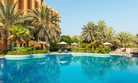 Abu Dhabi: 1 Night for Two with Option for Dinner or Club Access at the 5* Sheraton Abu Dhabi Hotel & Resort
