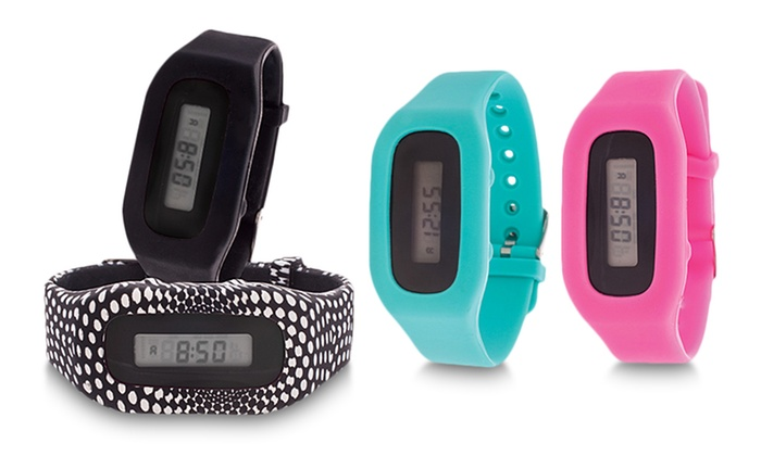 Pop Athletic Rechargeable Fitness Activity Tracker Watch