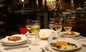 El Museo del Jamon: Desde $699 por cena española de 3 pasos + botella de vino para dos o cuatro en El Museo del Jamón, Puerto Madero