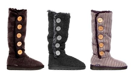 Muk Luks Malena Women's Crochet Sweater Boots