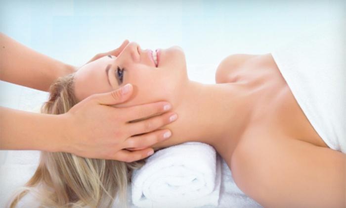 Extasis Salon & Spa - North Royalton: $40 for a Mani-Pedi, 60-Minute Massage, or Organic Facial with Green-Tea Waxing at Extasis Salon & Spa (Up to $90 Value)