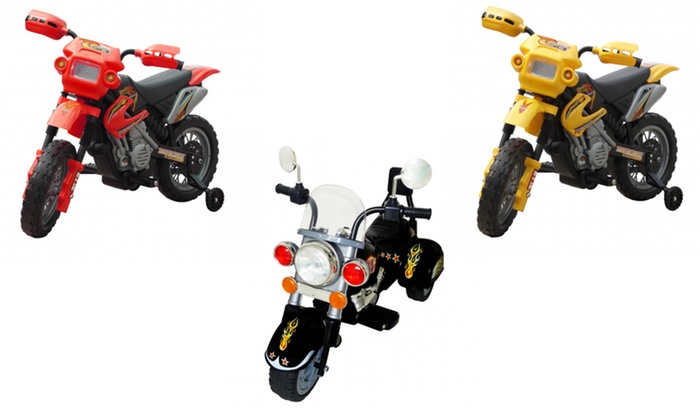 Mini moto elettrica per bambini groupon goods - Vida xl international bv ...
