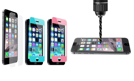 Merkury Innovations Tempered-Glass Screen Protector for iPhone 5/5S/5C and 6 or 6 Plus