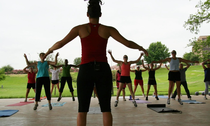 Houston Area Adventure Boot Camp - Multiple Locations: Four-Week Boot Camp for One or Two at Houston Adventure Boot Camp (Up to 68% Off)