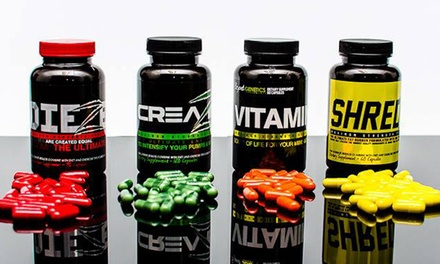 Health Supplements from SHREDZ Supplements (Up to 55% Off). Two Options Available