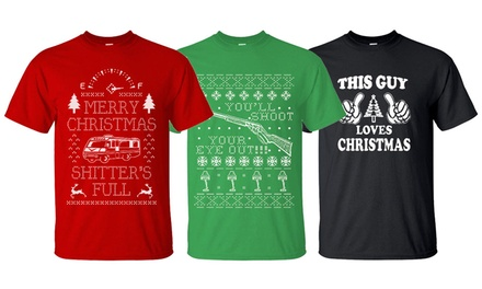 Men's Christmas Graphic T-Shirts